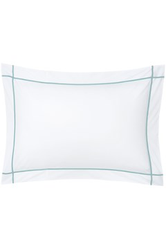 'Athena' Standard Pillowcase CELADON 1