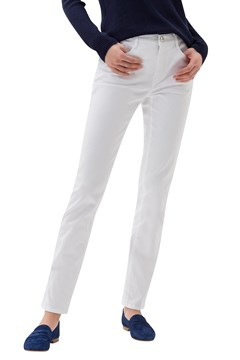Mary Straight Jeans WHITE 1