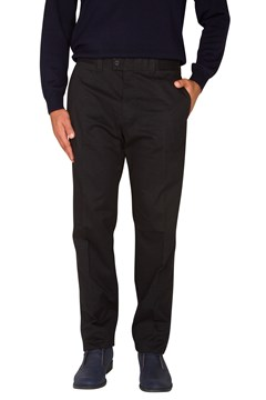 Pima Evan Cotton Kapok Trouser Perma Black (01) 1