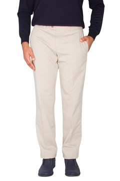 Pima Evan Cotton Kapok Trouser Beige (56) 1