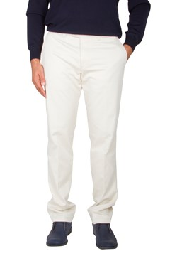 Pima Evan Cotton Kapok Trouser Sand (58) 1