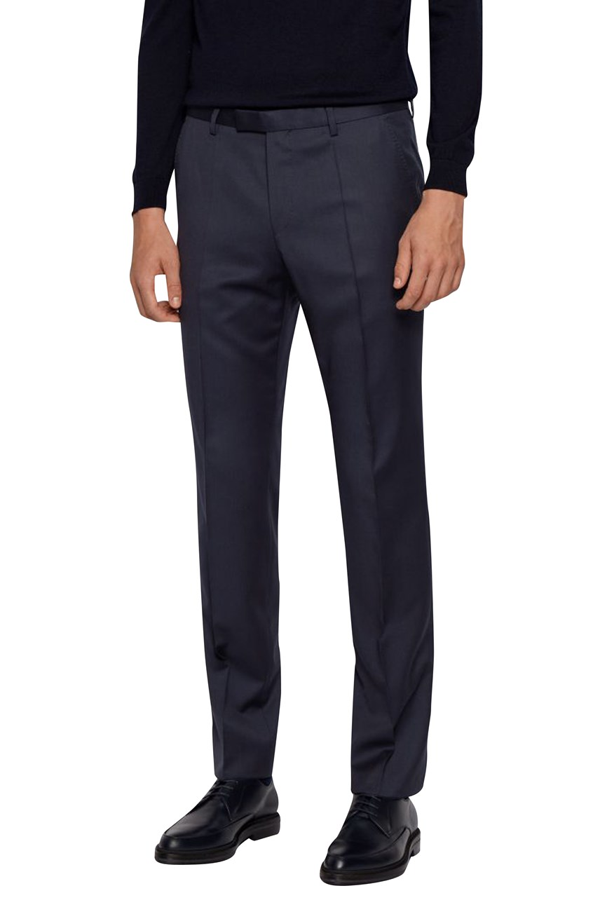 Lenon Regular Fit Wool Trousers