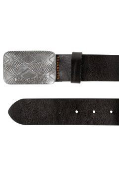 Jeremy Leather Belt 001 BLACK 1