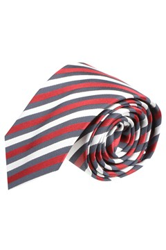 Ribbon Loop Tie 6cm 624 BRIG RED 1