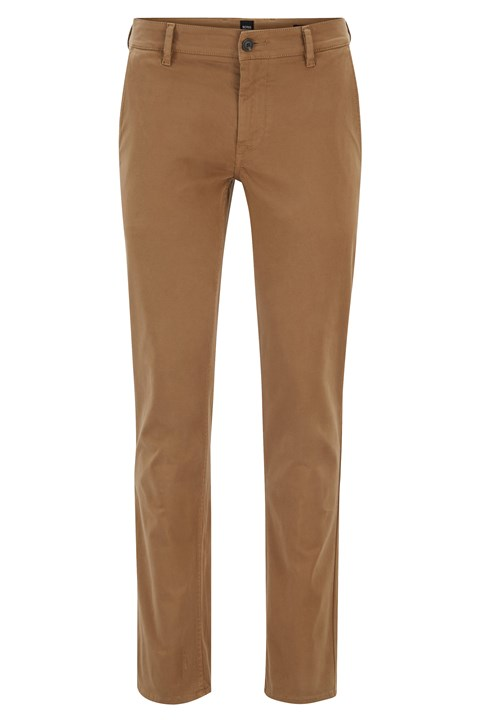 Slim Fit Chinos - 280 open beige
