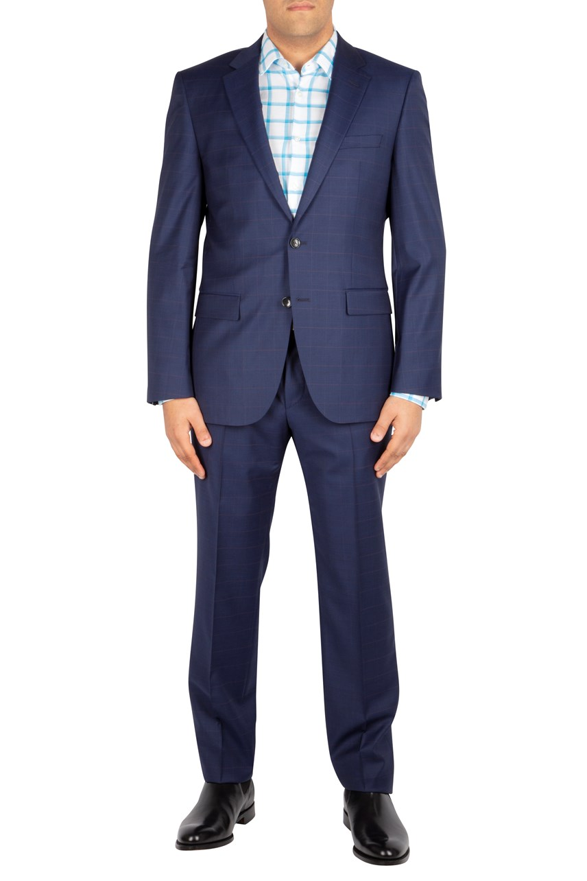 Glover Check Two-Piece Suit