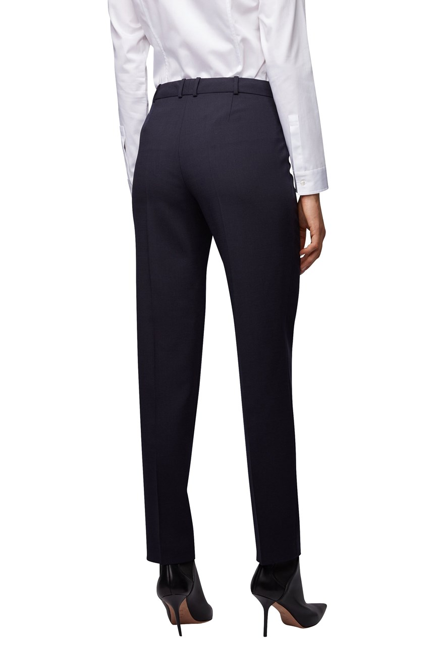 Tiluni1 Slim Fit Wool Trousers