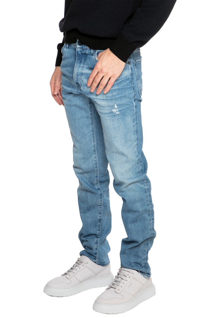 Maine Relaxed Fit Faded Jeans