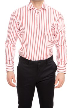 Gordon Longsleeve Shirt - 625 br red