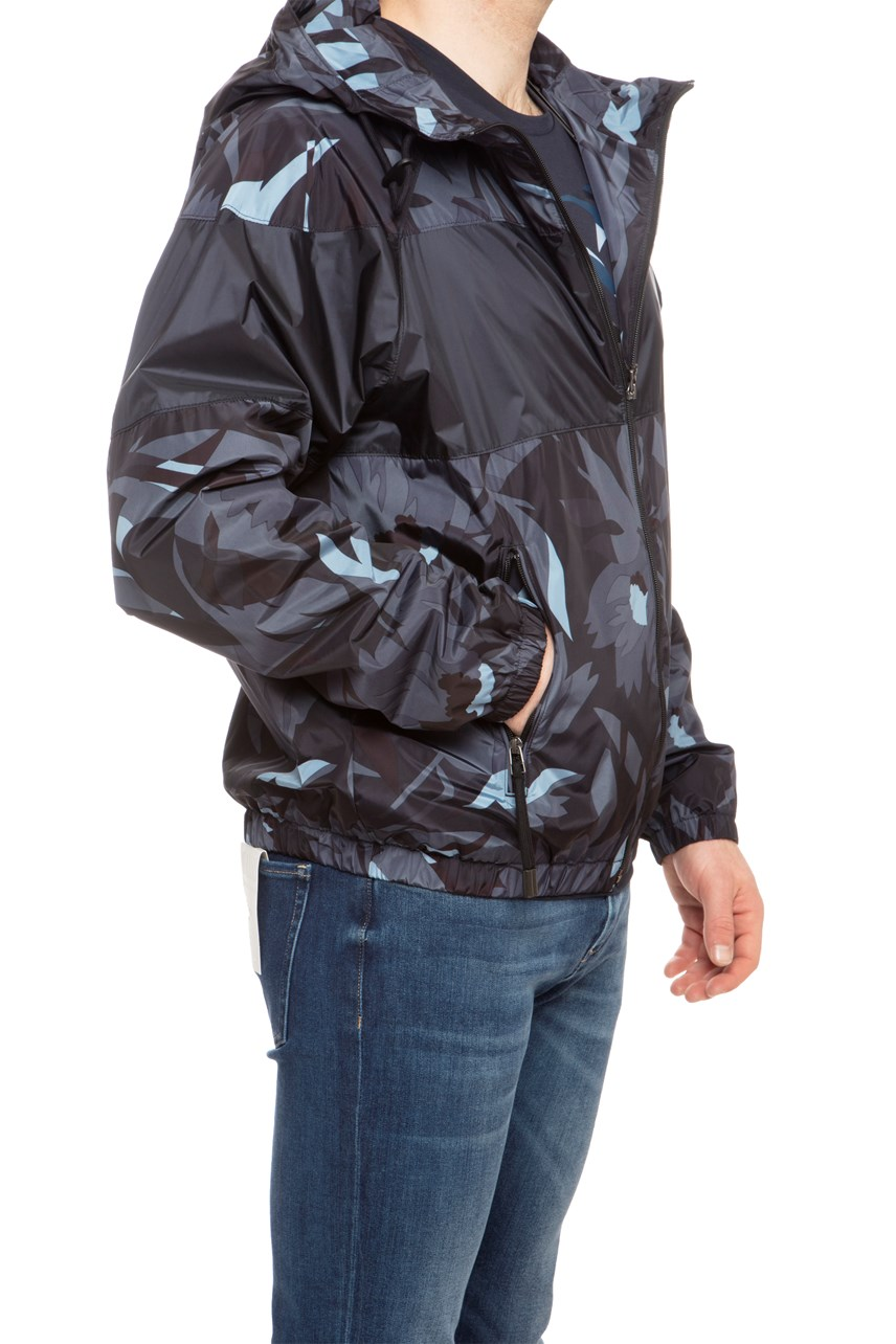 Cravel Camo Hooded Jacket