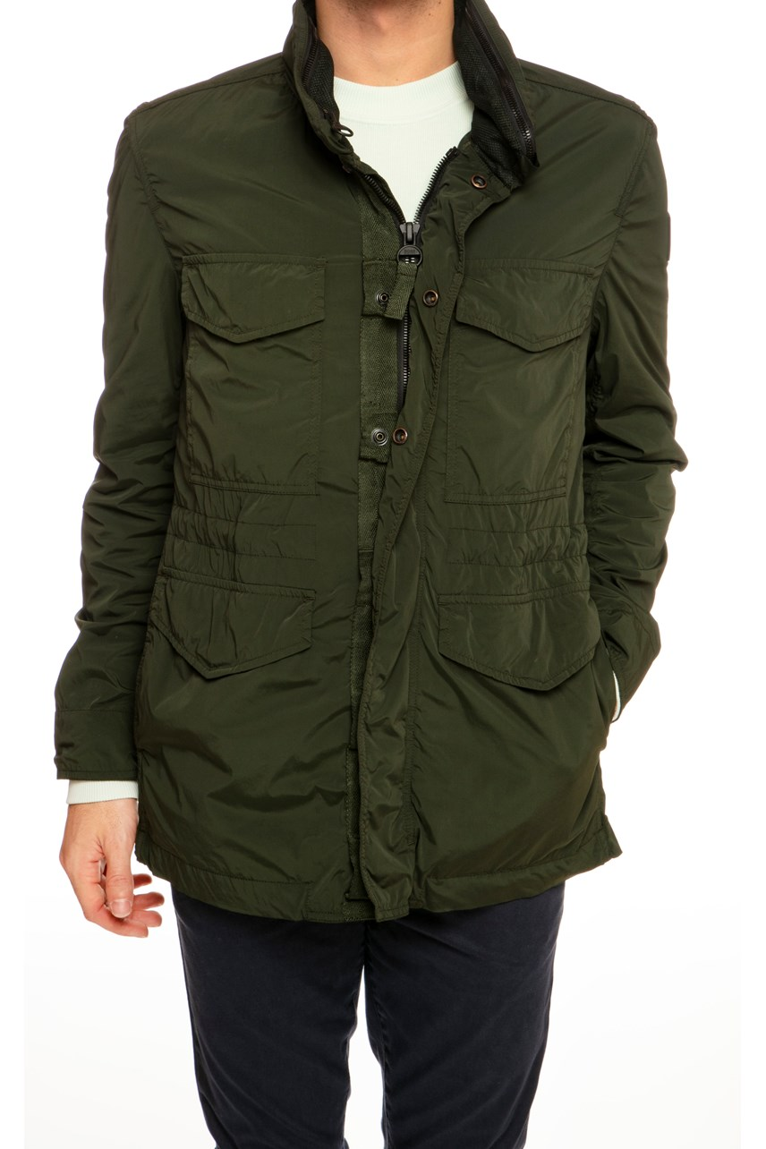 Zip Up Cargo Jacket