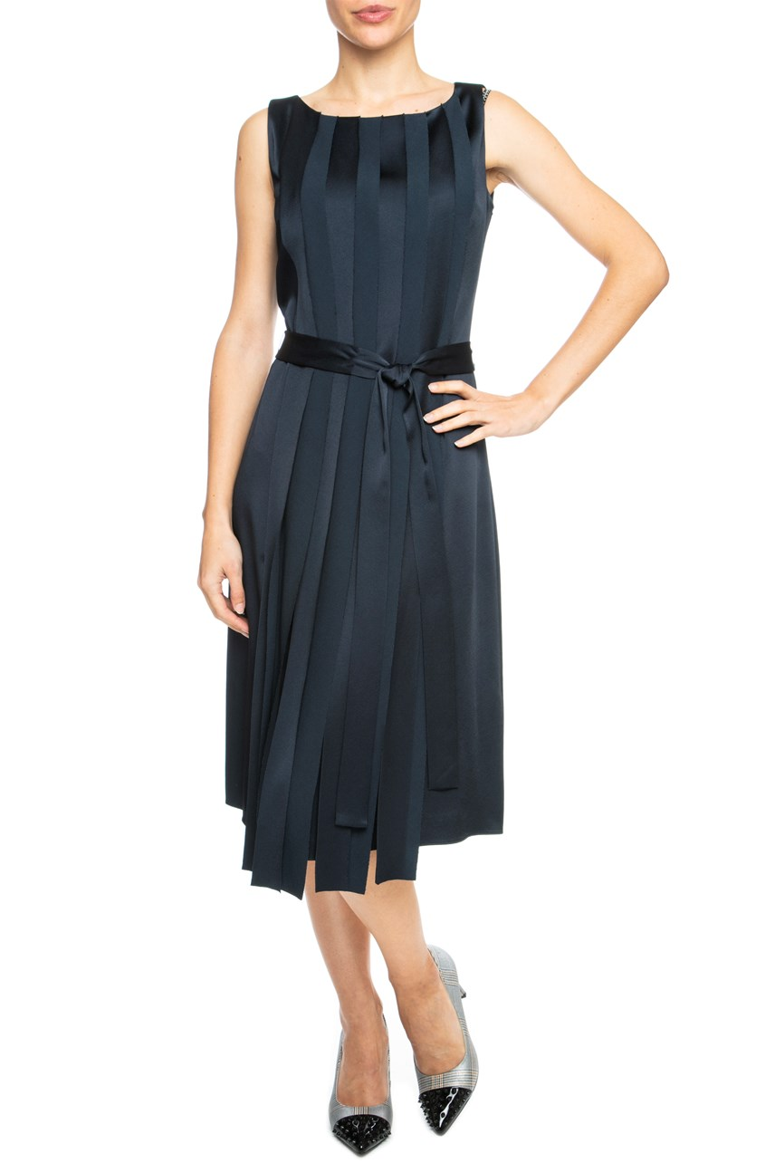 Panelled Sleeveless Dress