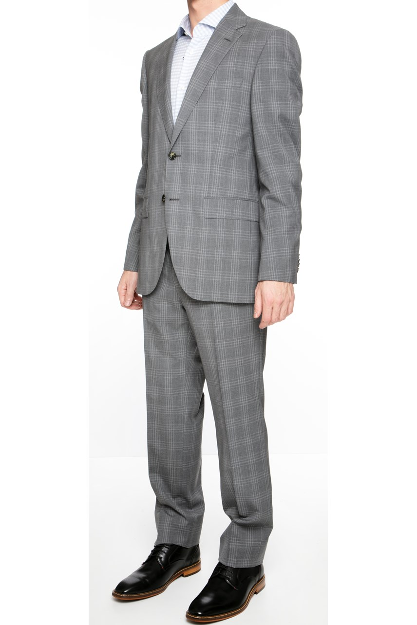 Jeckson Check Two-Piece Suit