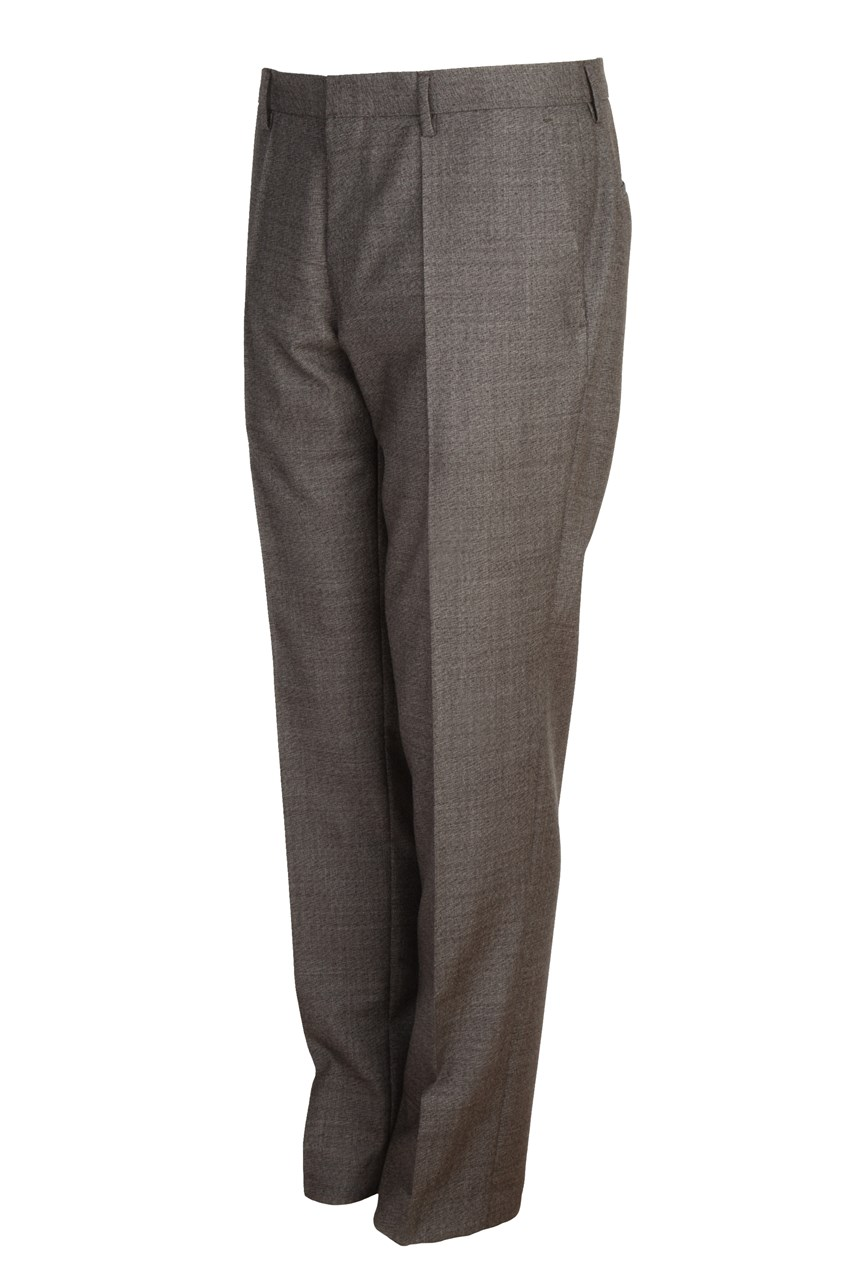 Genius5 Slim Fit Virgin Wool Trousers