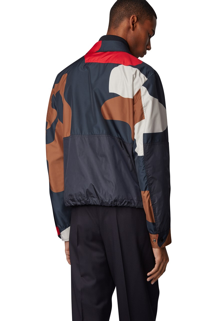 Culiver1 Camouflage Print Jacket