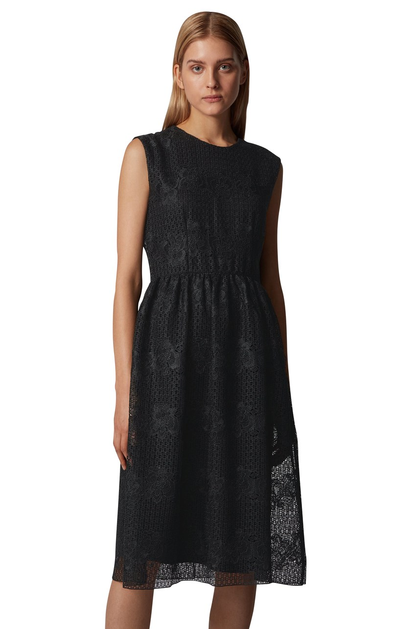 Ekessa Floral Lace Sleeveless Dress