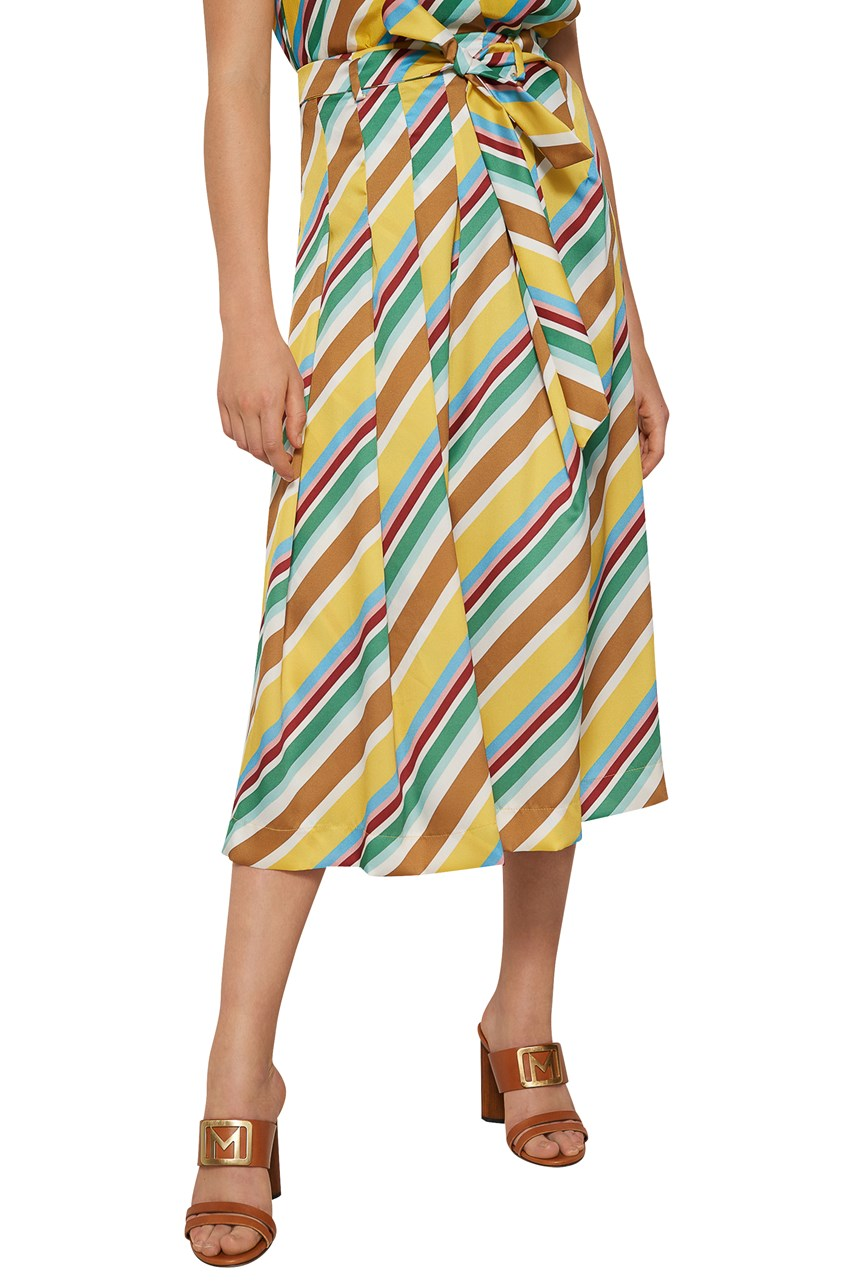 Aidin Patterned Culottes