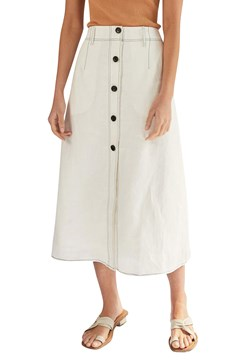 Torreya Skirt - white