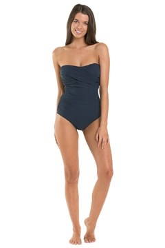 Contour D/DD Bandeau Swimsuit MIDNIGHT 1