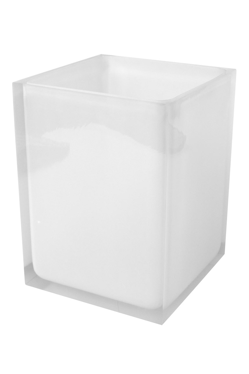 Hollywood Wastebasket - Clear