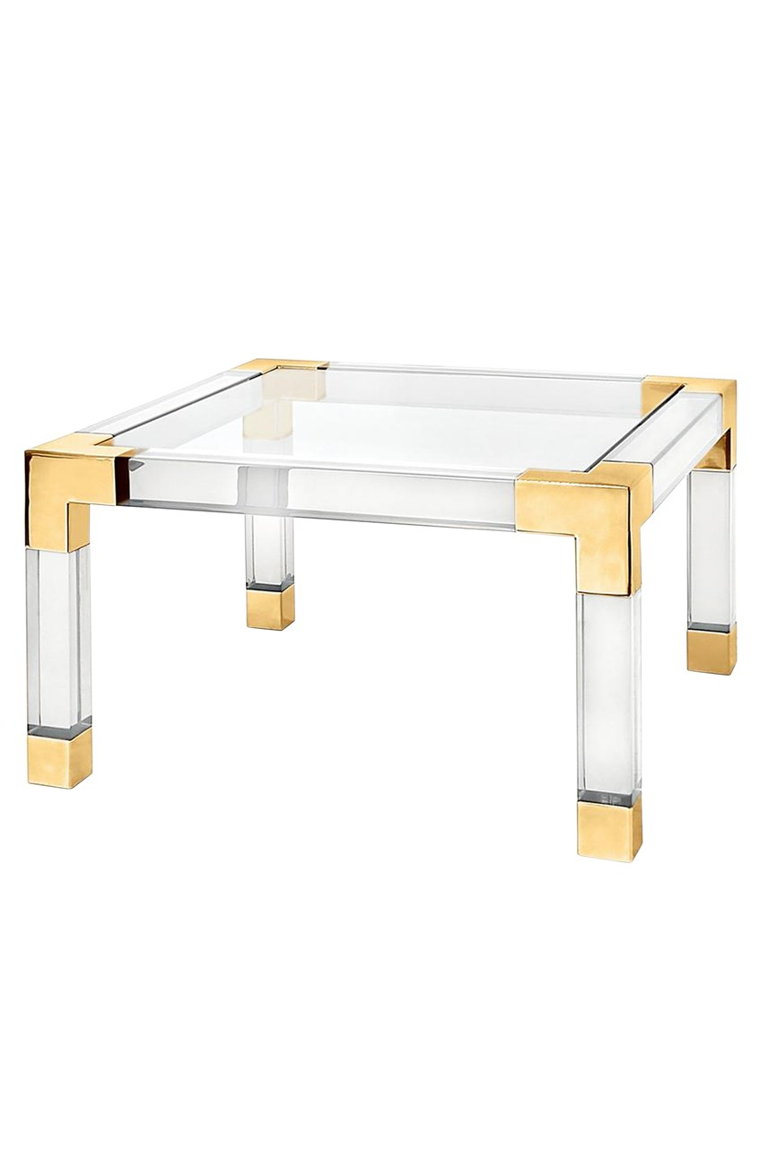 Jacques Brass Cocktail Table