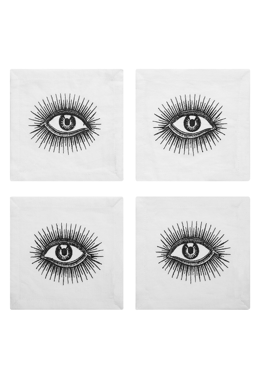 Eyes Cocktail Napkins - Set of 4