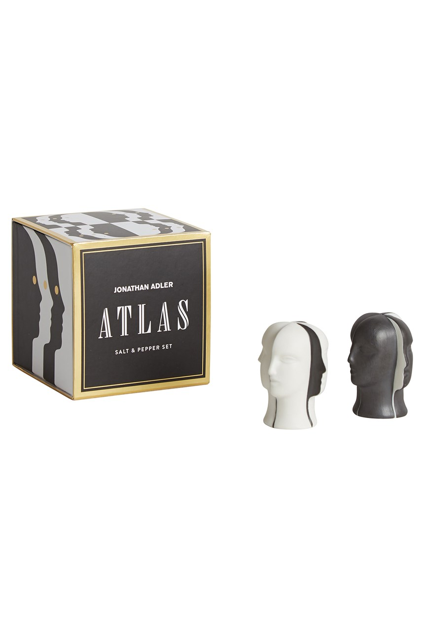 Atlas Salt & Pepper Set