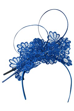 Lace Fascinator ROYAL 1