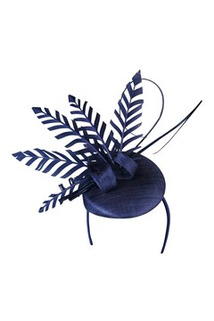 Trixie Fascinator PURPLE 1