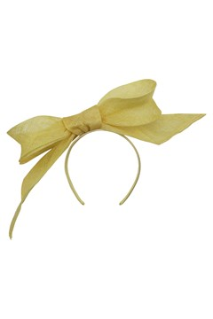 Tamia Fascinator YELLOW 1