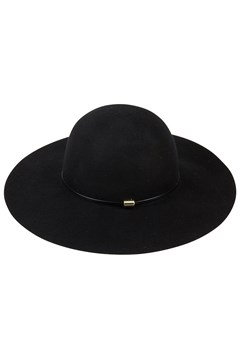 Floppy Felt Hat with Band BLACK 1