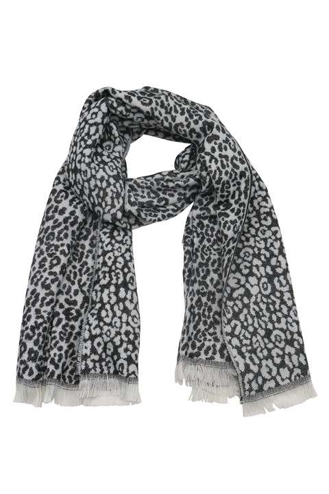 Jocelyn Scarf - black white