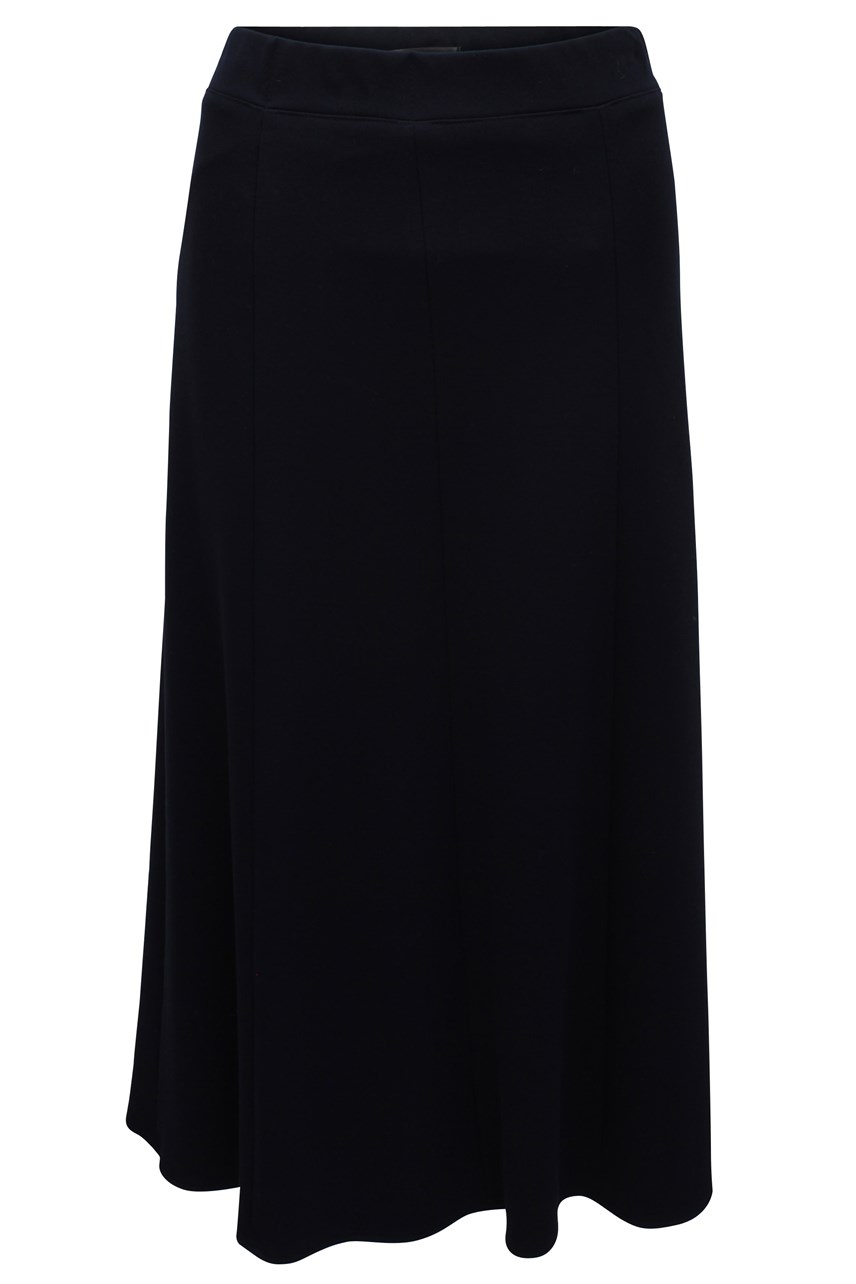 Long Navy Skirt