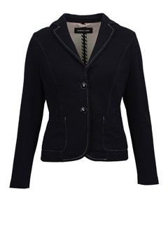 Blazer With Contrast Stitching NAVY 1