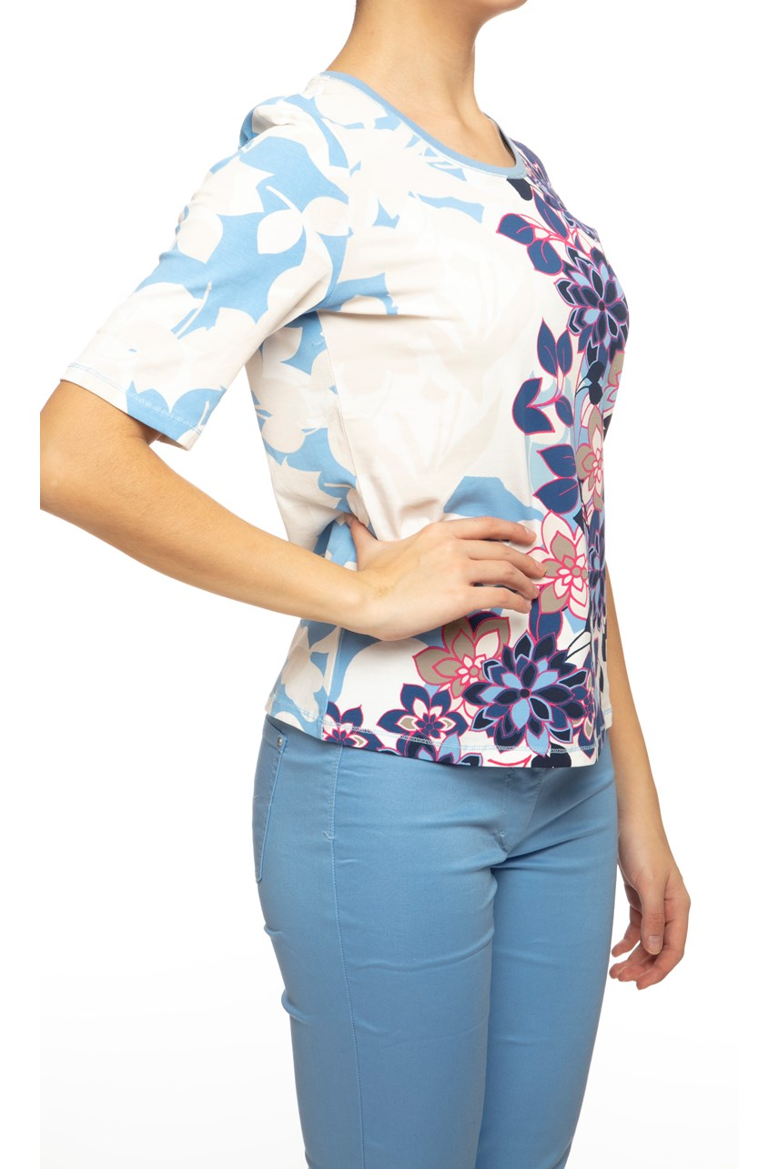 Floral Shortsleeve Blouse