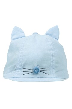 Tweet Cap With Ears LIGHT DENIM 1