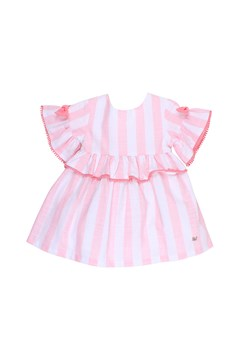 Playground Dobby Dress PINK STRIPE 1