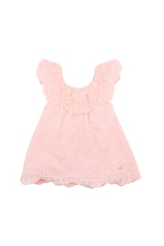 Frolic Broderie Anglaise Dress SOFT PINK 1
