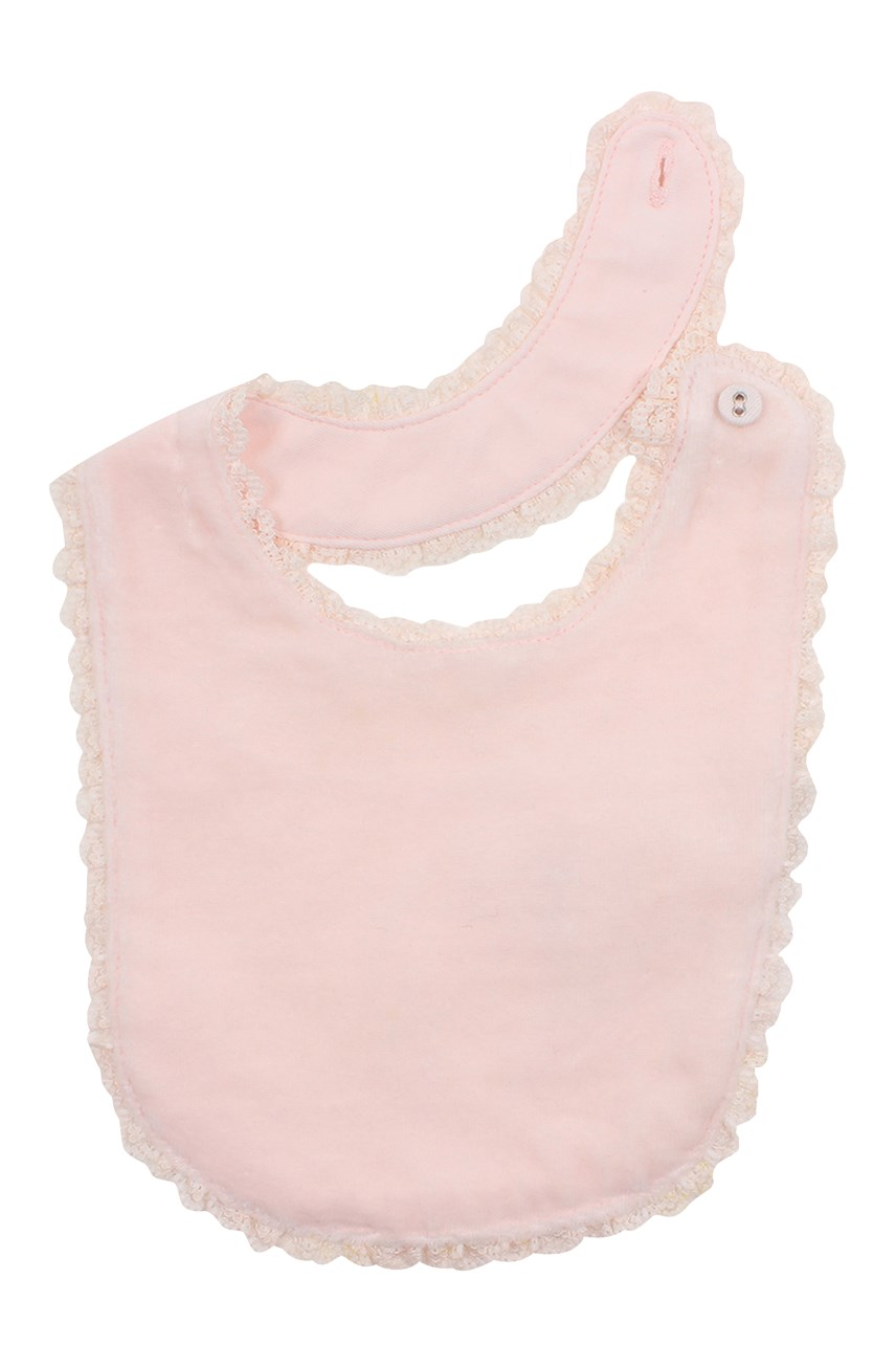 Velour Lace Bib