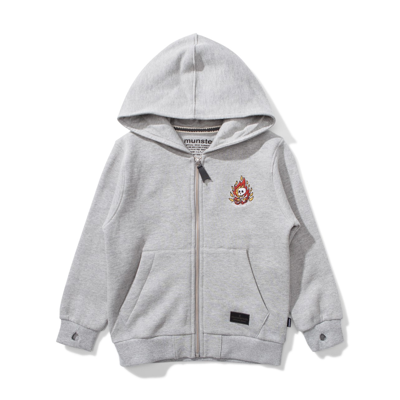 Skull Hander Hooded Fleece