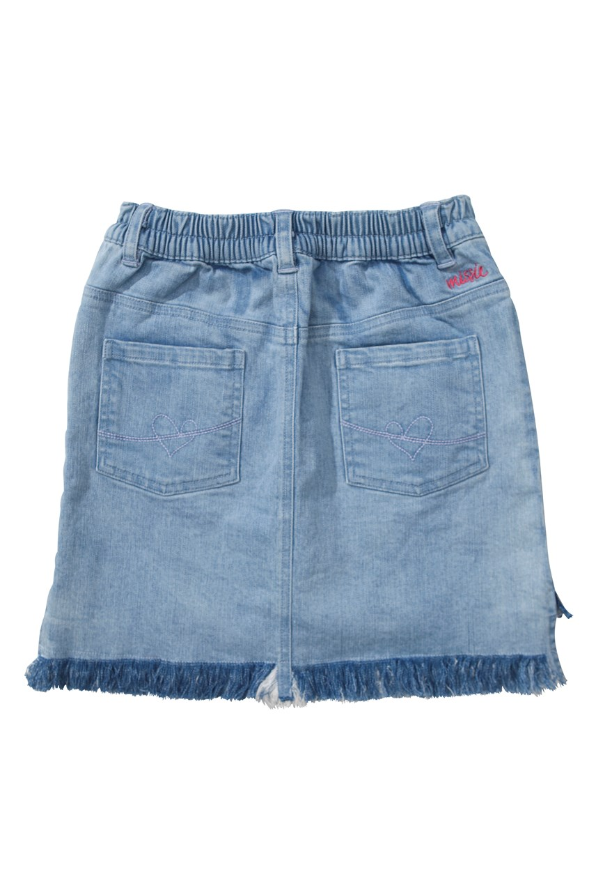 Rosehip Denim Skirt