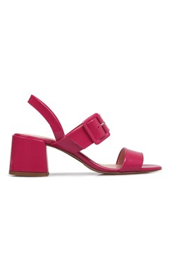 Gigi Dress Sandal Medium Heel FUSCHIA 1