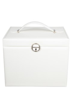 Large Rectangle Jewellery Box - white