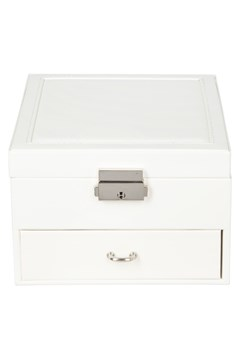 Square Jewellery Box WHITE 1