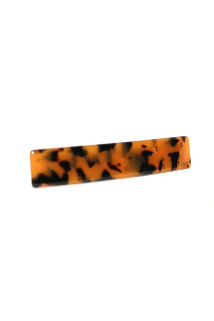 Tortoiseshell Rectangle Hair Clip