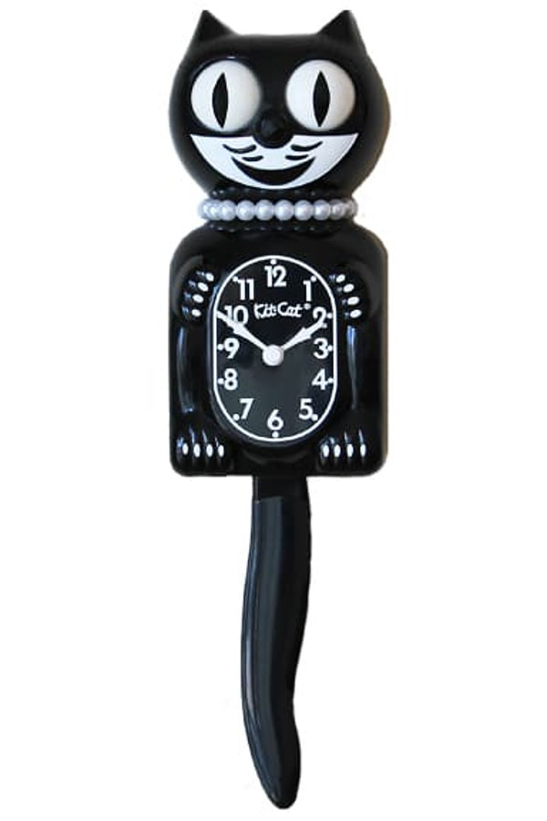 Classic Black Lady Limited Edition Clock