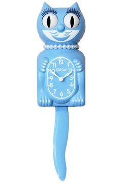 Serenity Blue Lady Limited Edition Clock 1