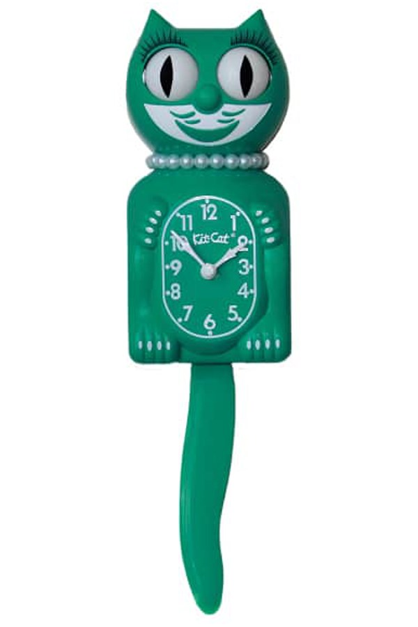 Green Beauty Lady Limited Edition Clock