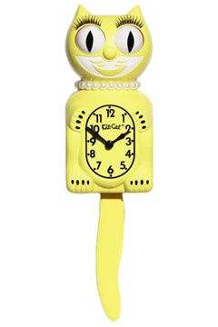 Majestic Yellow Lady Limited Edition Clock 1