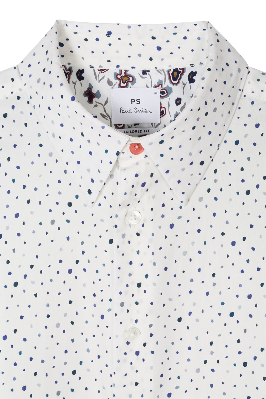 Tailored Fit Painted Spot Shirt